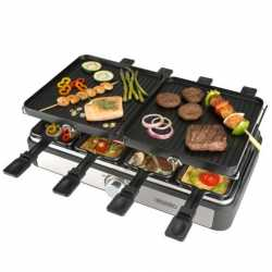 Plancha asar bourgini gourmette raclette grill