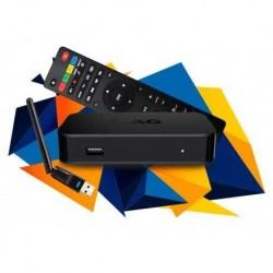 Receptor IPTV Linux, FULL HD, H.265, Wifi USB incluido