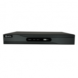 NVR IP hasta 8 canales, 8Mpx, 80Mbps, salida HDMI. H.265+