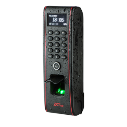 Control de Acceso y Presencia Huellas, Tarjeta EM RFID y teclado. Apto para exterior