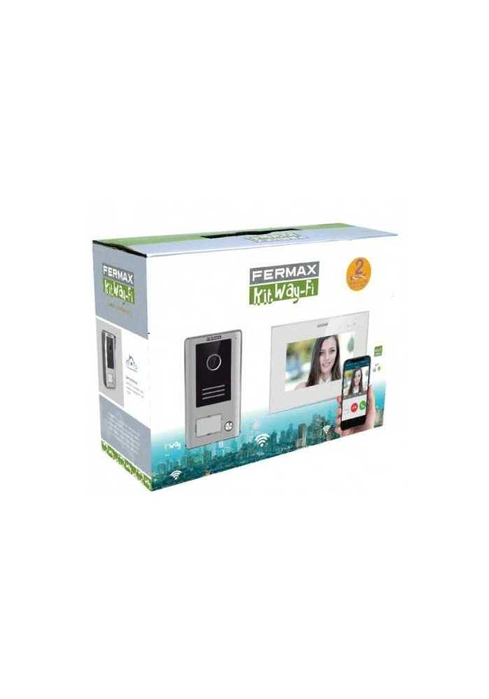 Kit video WAY color 1/L y monitor Wifi TFT 7