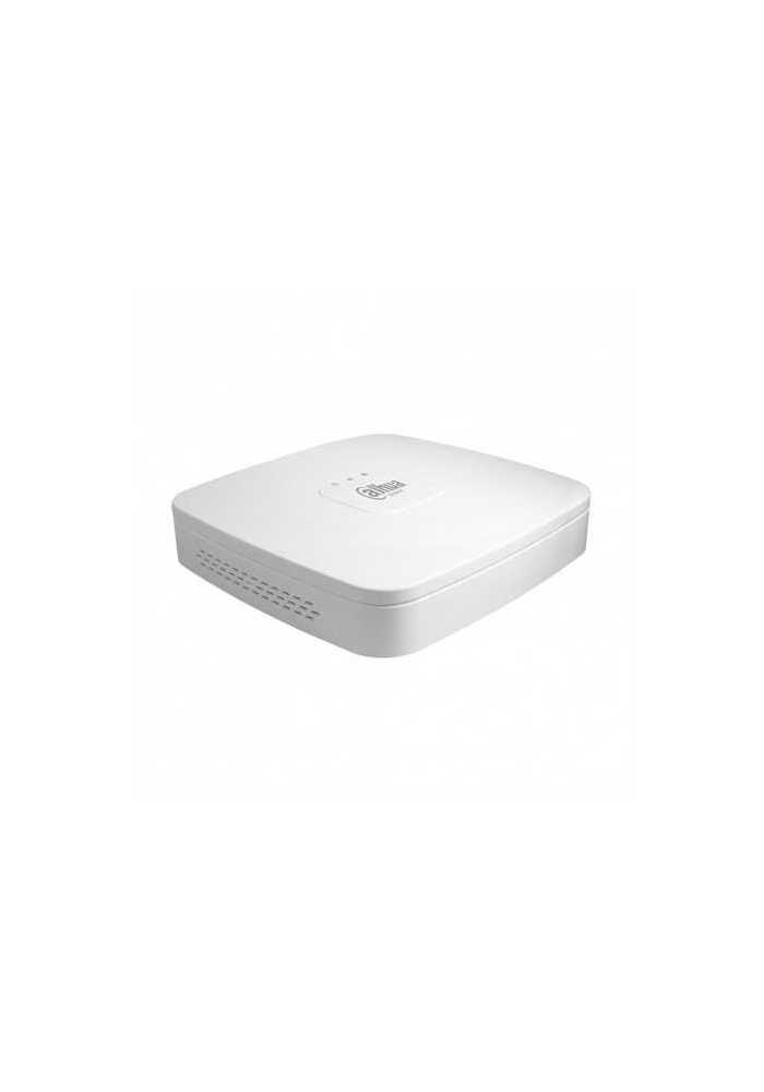 NVR 4ch IP hasta 8Mpx, 80Mbps, H.265, 1 HDD
