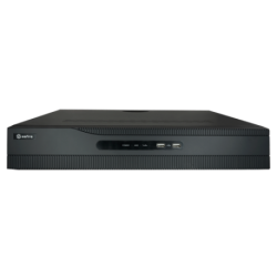 NVR 32ch IP, hasta 12Mpx, 256Mbps, H.265+, 4 HDD
