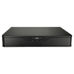 NVR 4ch IP PoE hasta 8Mpx, 80Mbps, UltraH.265, 1 HDD