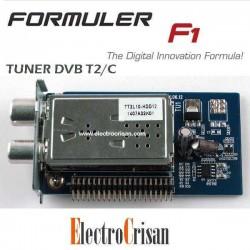 TUNER TDT DVB T2/T/C FORMULER F1