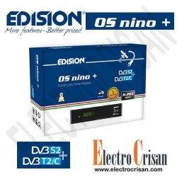 EDISION OS NINO PLUS DVB-S2 + DVB-T2/C