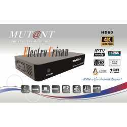 MUTANT HD60 4K DVB-S2X QUADCORE