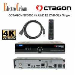 OCTAGON SF8008 4K UHD E2 DVB-S2X Single